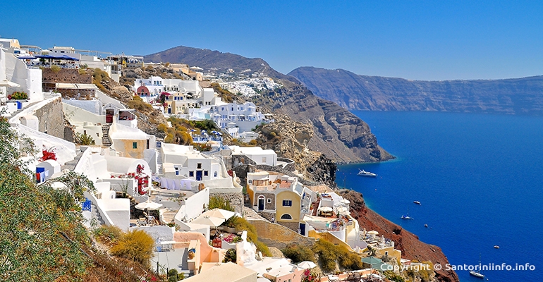 Information about Santorini Island